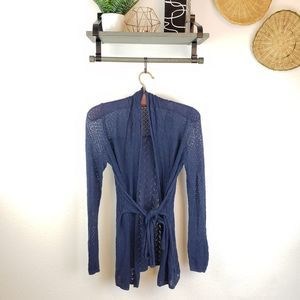 Knitted and Knotted Medium Cardigan